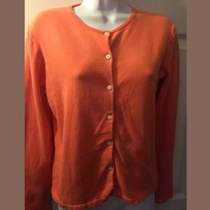 LILLY PULITZER Salmon Coral Orange Sweater